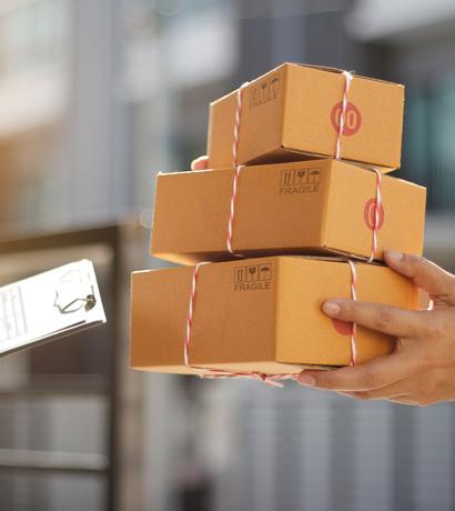 Produktboxen zu Hause